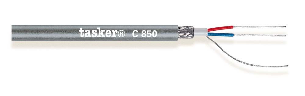 Digital audio DMX cable 110 Ohm 2x0,22<br />C850