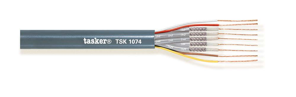 Radio Frequency cable 5x50 Ohm + 4x0.22<br />TSK1074