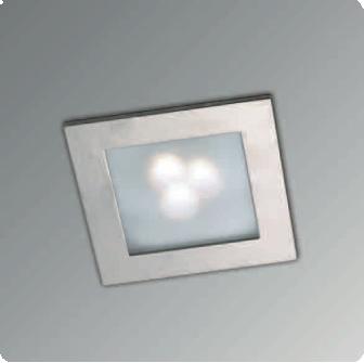 Lira Led spotlight inbouw IP20 Ll06RGB 3 led/1W