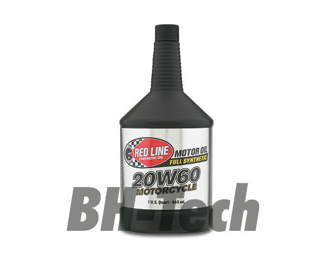 20W60 MOTORCYCLE OIL US QUART