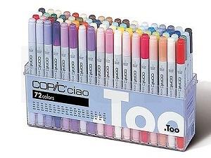 Copic \'Ciao\' set A 72 couleurs