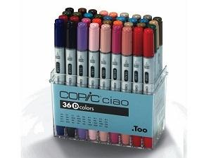 Copic \'Ciao\' set D, 36 couleurs