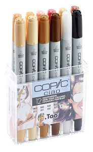 Copic \'Ciao\' set Tons Chairs, 12 couleurs