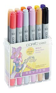 Copic \'Ciao set Set Witch, 12 couleurs