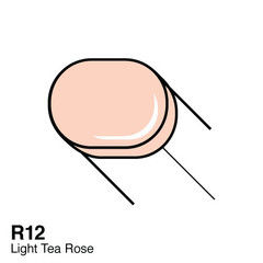 R12 Light Tea Rose