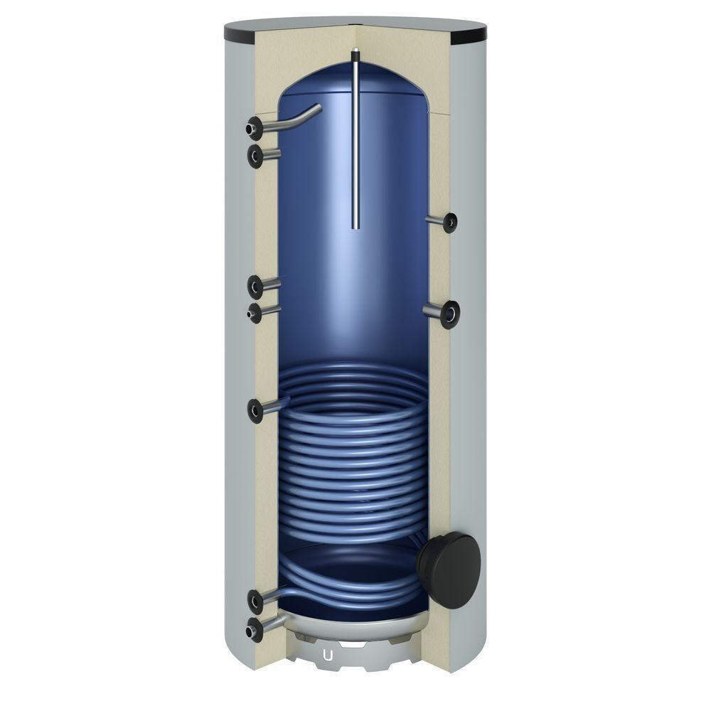 Tapwaterboiler met 1 warmtewisselaar