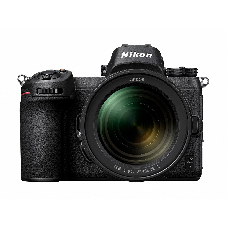 Nikon Z7 met FTZ adapter en 24-70mm