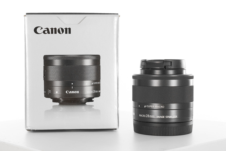 Canon EF-M 28mm macro