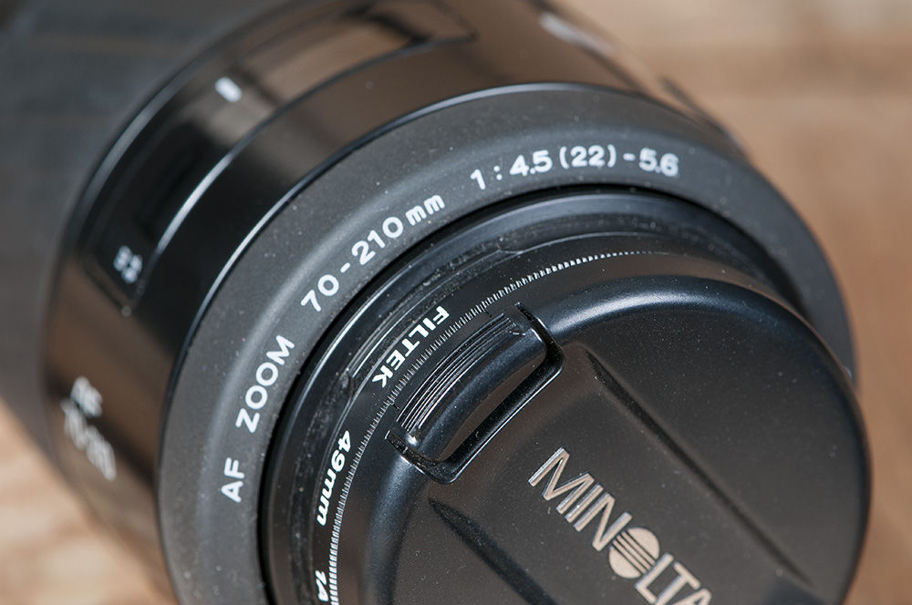 Minolta 70-210 Voor Sony