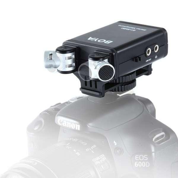 Boya Stereo Microfoon BY-SM80 voor DSLR Camera