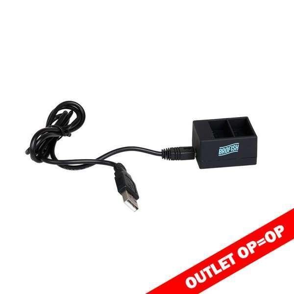 brofish dual battery charger hero 3