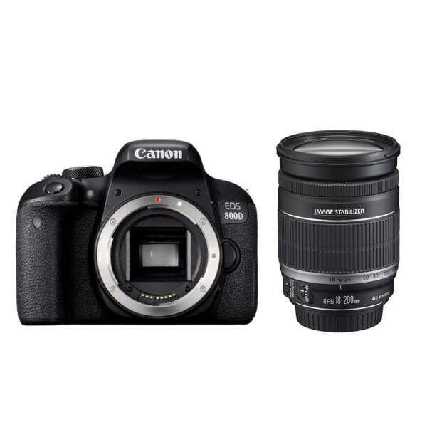 Canon 800D + 18-135