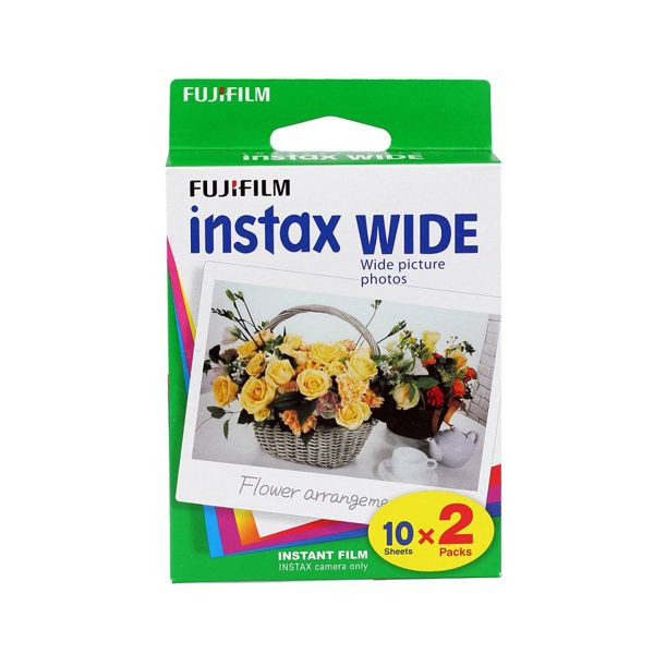 Fuji Instax wide Film dubbel pack
