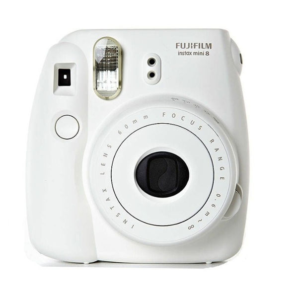 Fuji instax Mini 8 wit (POLAROID Systeem)