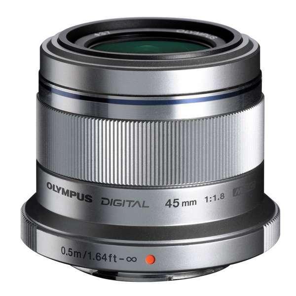 Olympus MFT 45mm F/1.8 zilver
