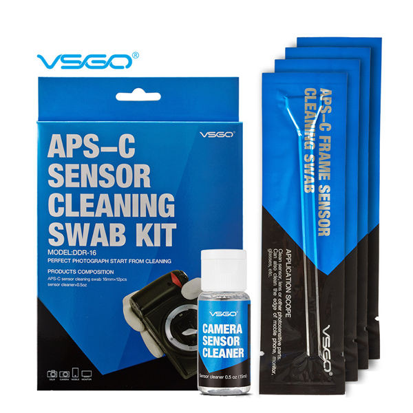 VSGO APS-C Cleaning Sensor Swab Kit