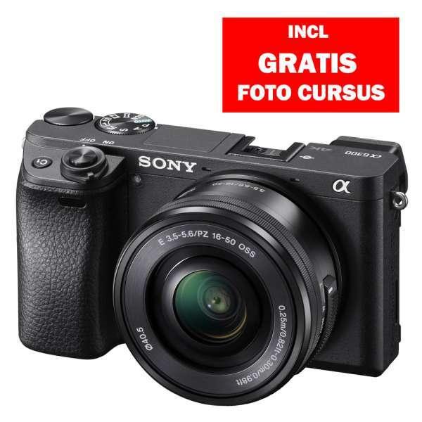 Sony A6300B + SEL 16-50