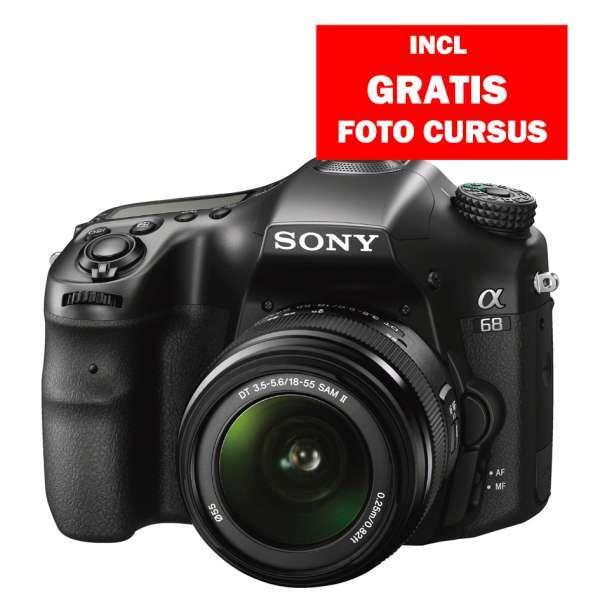 Sony A68 18-55