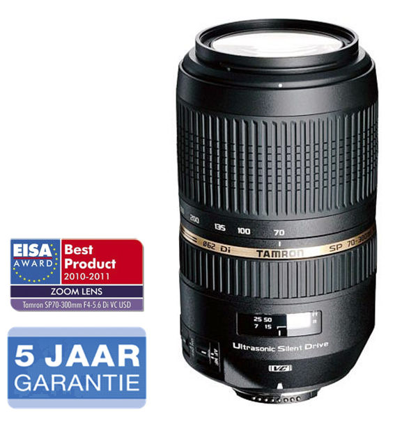 Tamron SP 70-300mm F/4-5.6 Di VC USD Canon