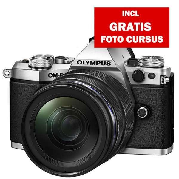 Olympus E-M5 II zilver + EZ-M 12-40mm PRO