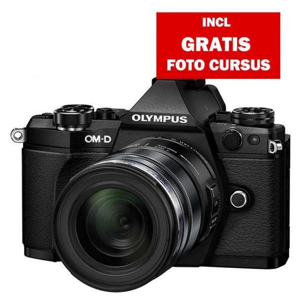 Olympus E-M5 II zwart + EZ-M 12-40mm PRO