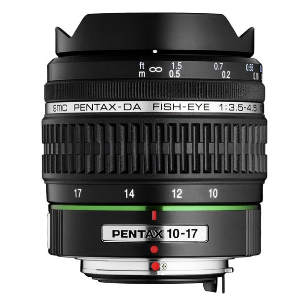 Pentax DA 10-17mm fish-eye F3.5-4.5 ED