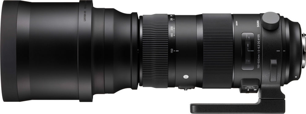 Sigma 150-600mm F/5-6.3 DG OS HSM Sports Canon