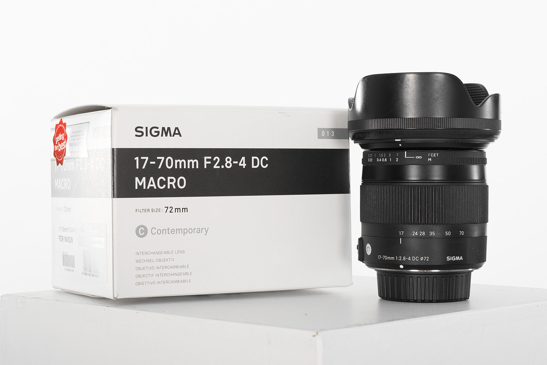 Sigma 17-70 Nikon