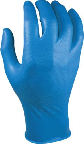 Grippaz Nitril handschoen 246BL Large (9) 50 stuks