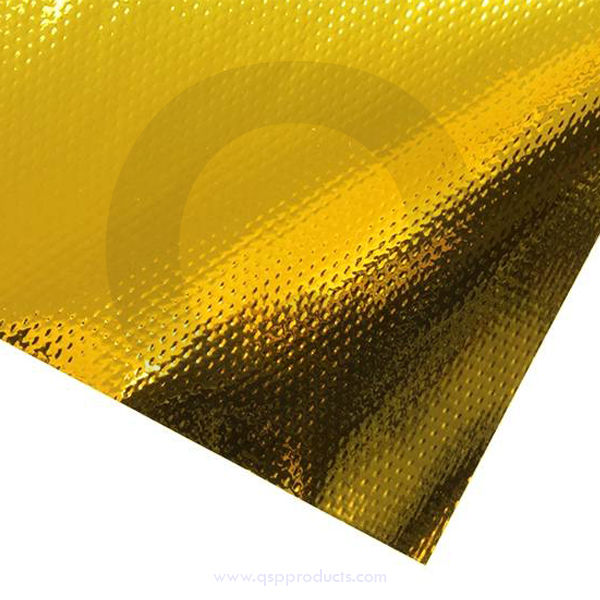 Heat Reflective mat GOLD max 450 250x500mm