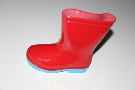 Laarzen Gevavi rood met blauwe zool maat 29