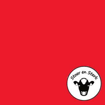 Rood zonder print