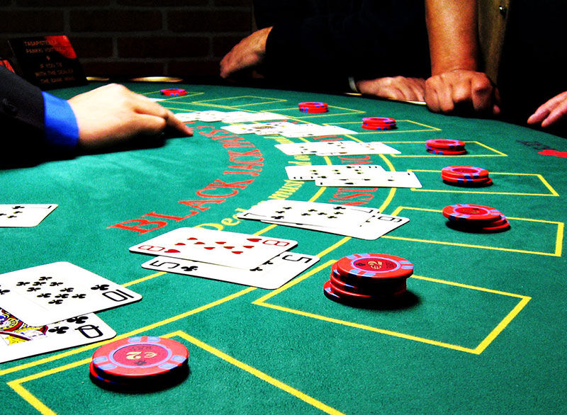 Complete set casinospellen huren Poker, Blackjack en Roulette spel