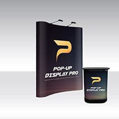 Pop-Up Pro Displays 2x3 Curved