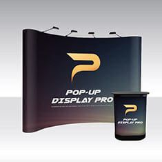 Pop-Up Pro Displays 4x3 Curved