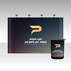 Pop-Up Pro Displays 4x3 Straight