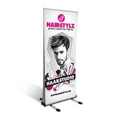 Double Outdoor banner