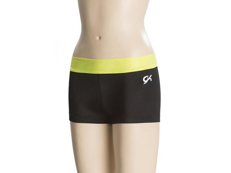 GK Shortje blackneonyellow