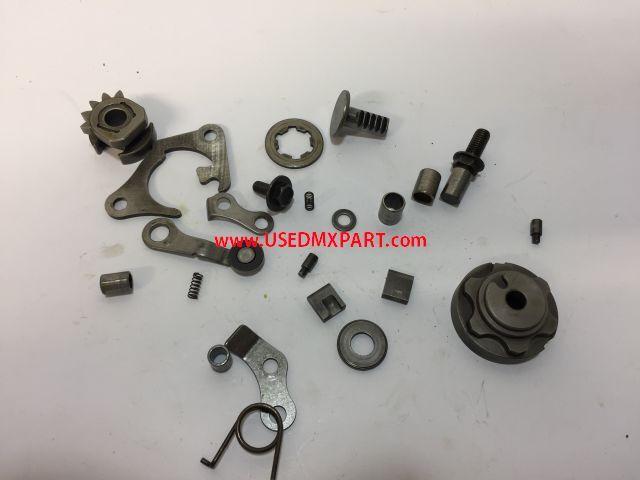 Different parts - blok onderdelen