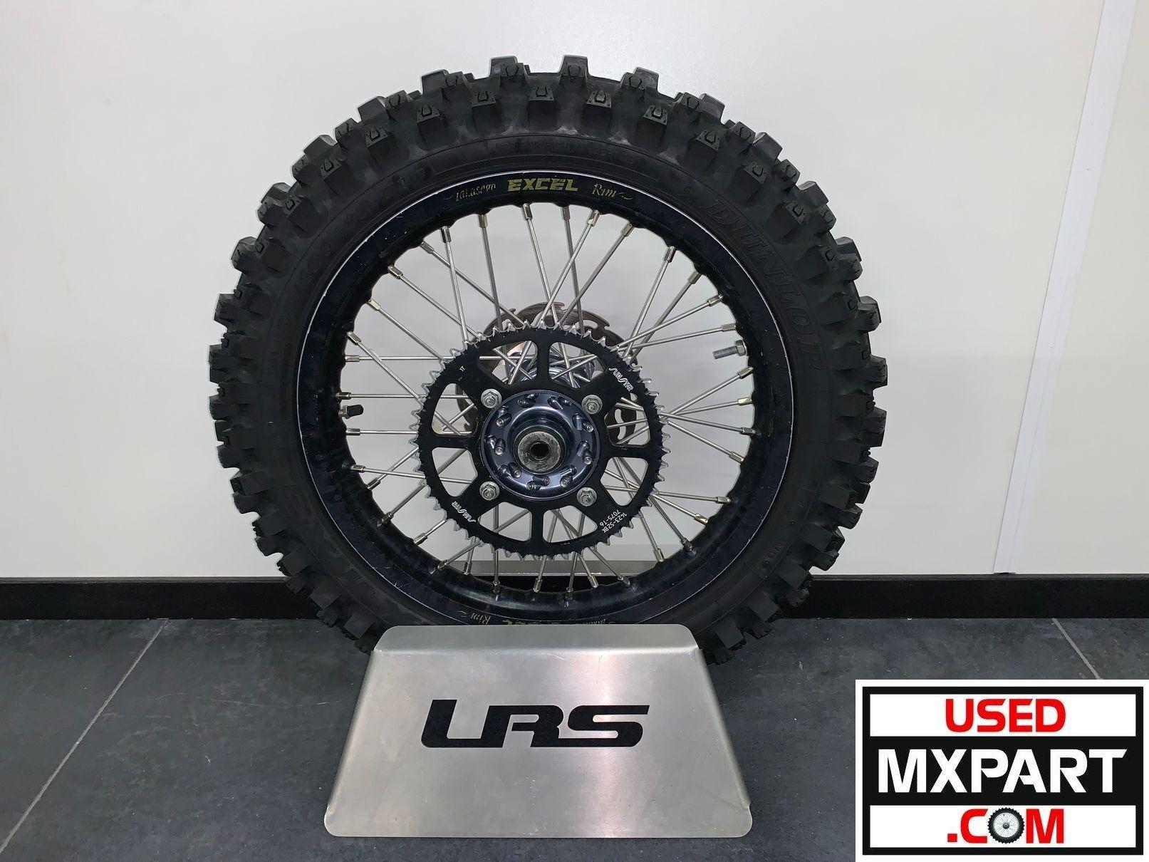 Rear wheel - achterwiel