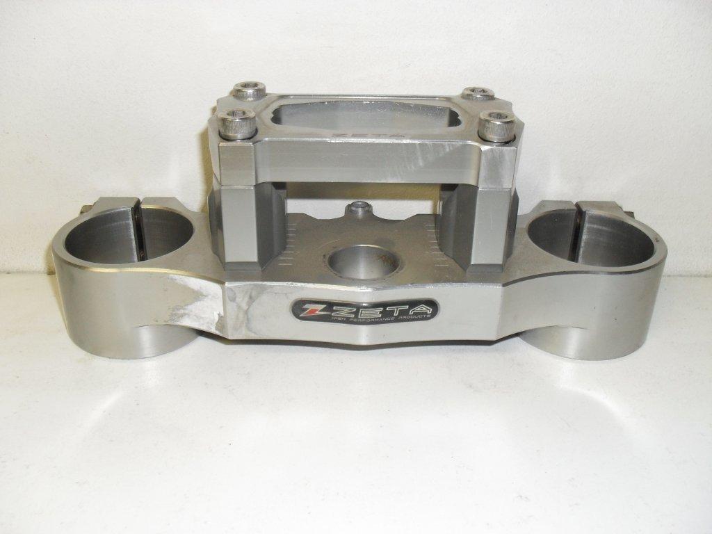 triple clamp - kroonplaat