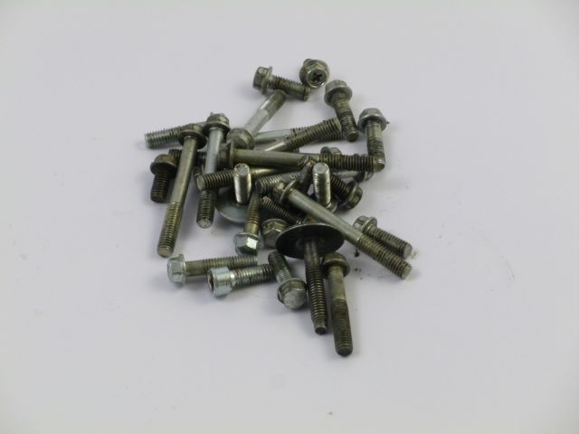 various bolts engine - diversen bouten blok