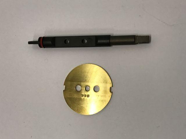 throttlebody shaft + valve - gasklephuisas + klep