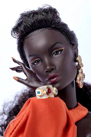 Night Falls, Keeki Adaeze™ Dressed Doll