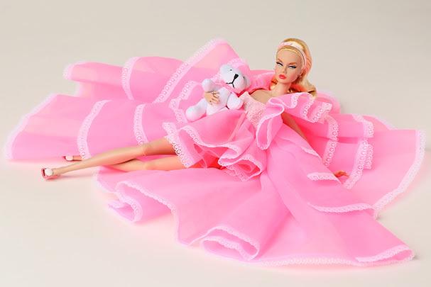 Pink Powder Puff, Poppy Parker