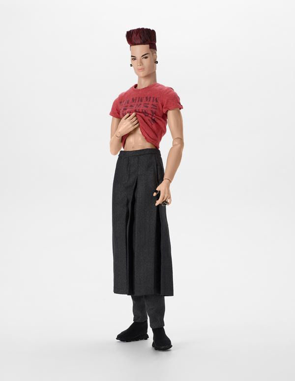 Dressed to Chill, Tenzin Dahkling™ Fashion Figure