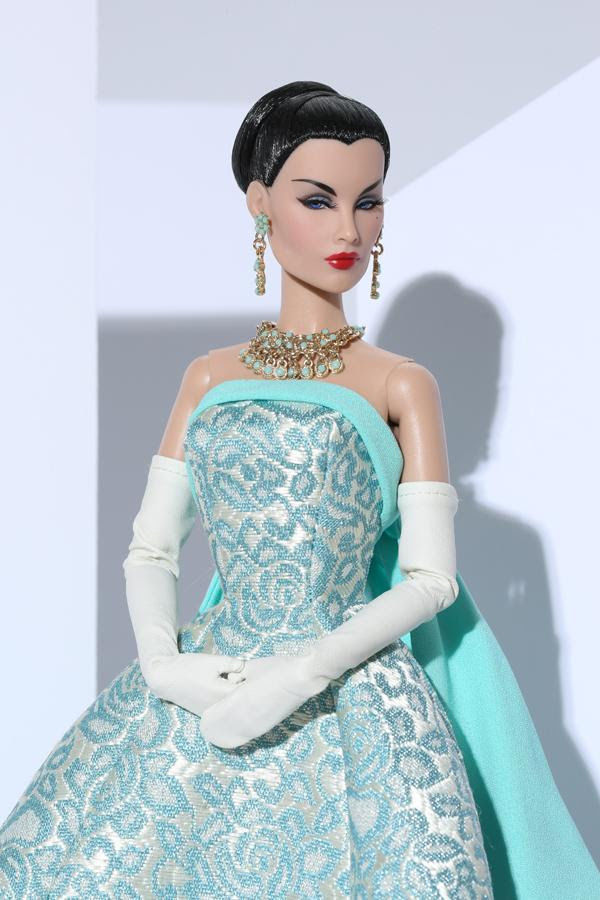 Turquoise Sparkler Evelyn Weaverton® Doll