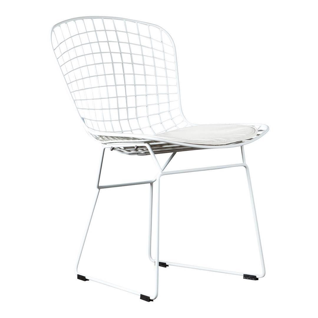 <span style=&#34;font-family:'courier new', courier, monospace;&#34;>White design chair</span>