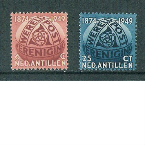 Nederlandse Antillen 1949   75 jaar Werelpostvereniging UPU