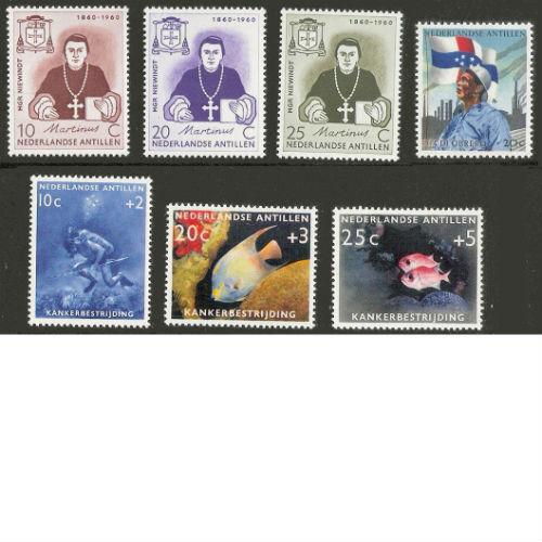 Nederlandse Antillen 1960 jaarset